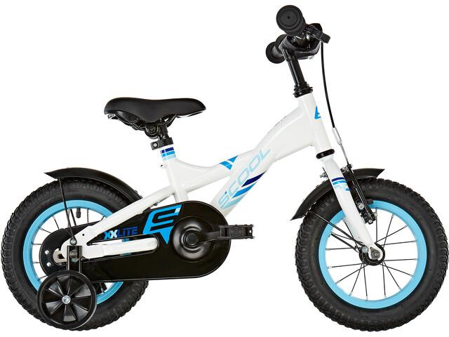s'cool XXlite 12 Steel Børn, white/blue